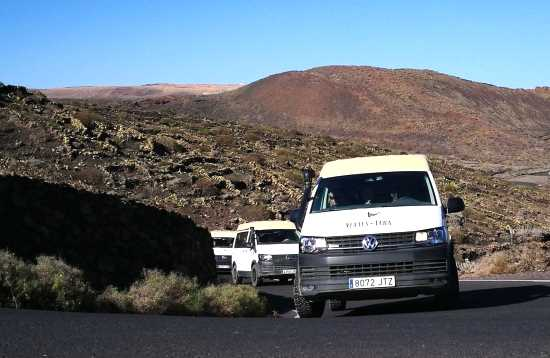 4x4 Bus & Jeep Safari The South of Lanzarote