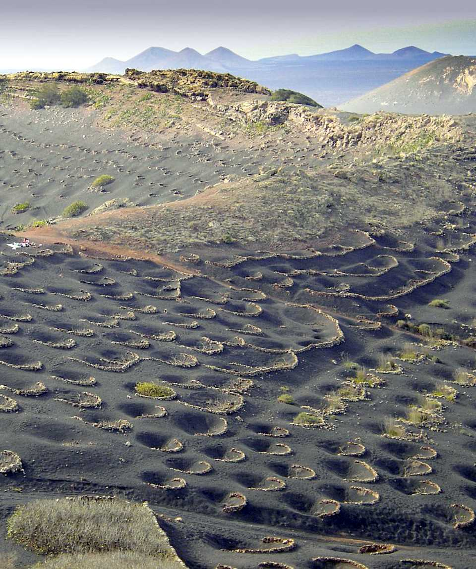 Walking on the Moonscape of Lanzarote