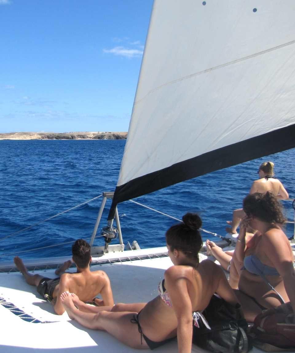 Catamaran Sailing Tour Playa Blanca Lanzarote