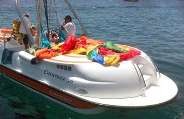 Parasailing Costa Teguise