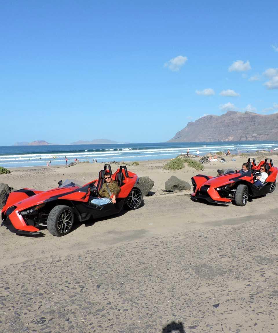 Polaris Slingshot Tour Lanzarote