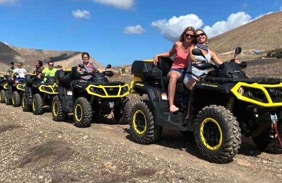 2,0 Hours Outlander QUAD Tour Lanzarote