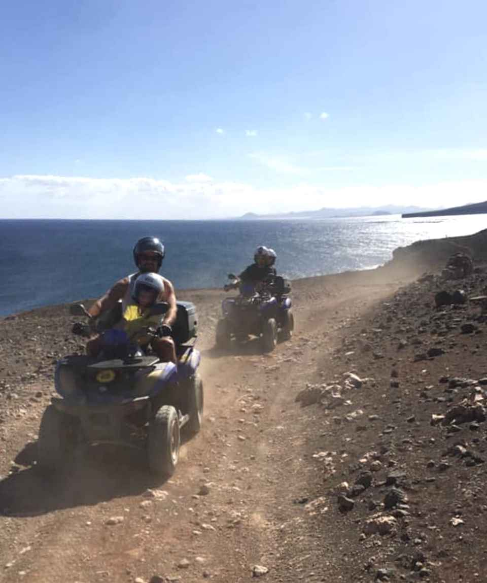 1 Hour Quad Bike Tour from Playa Blanca