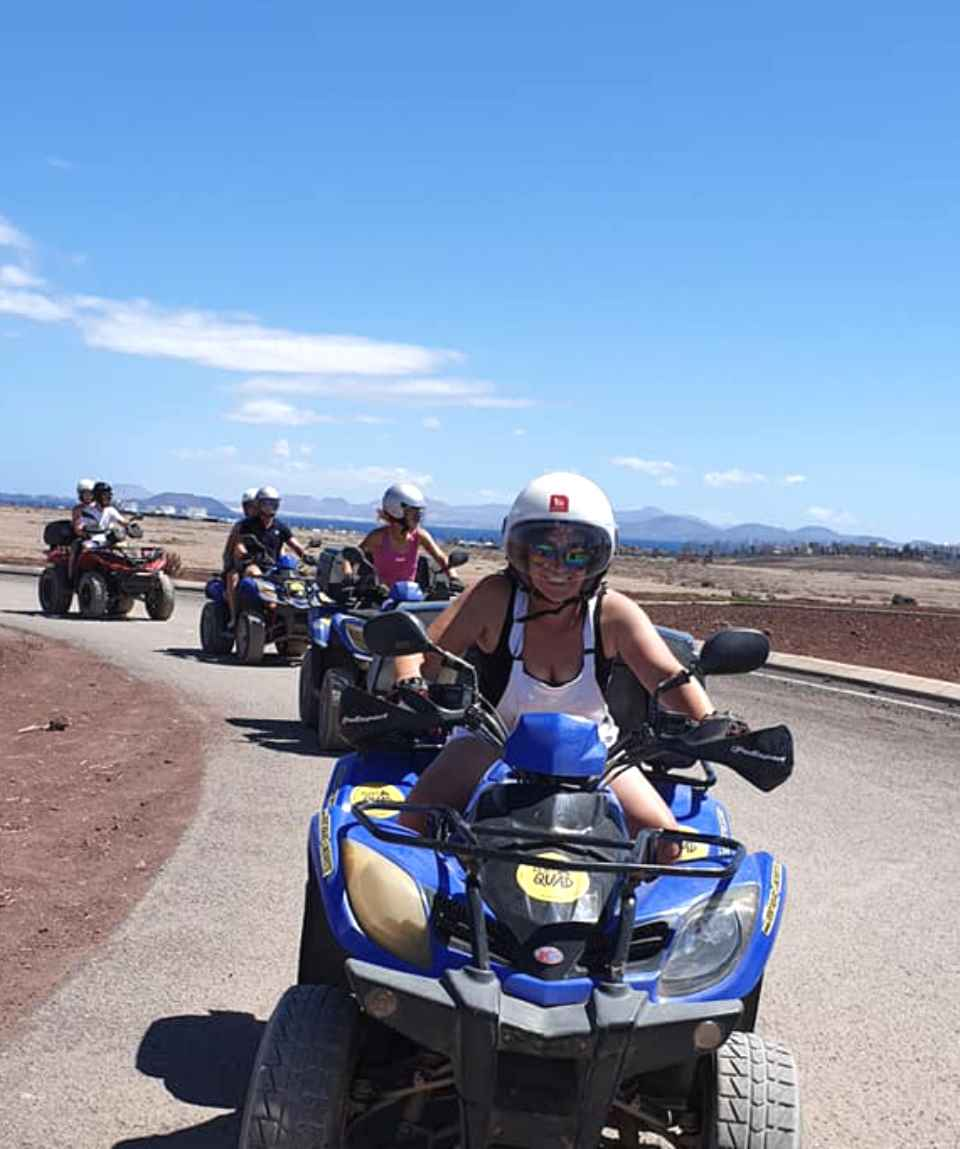 2 Hours Quad Tour Papagayo & Janubio
