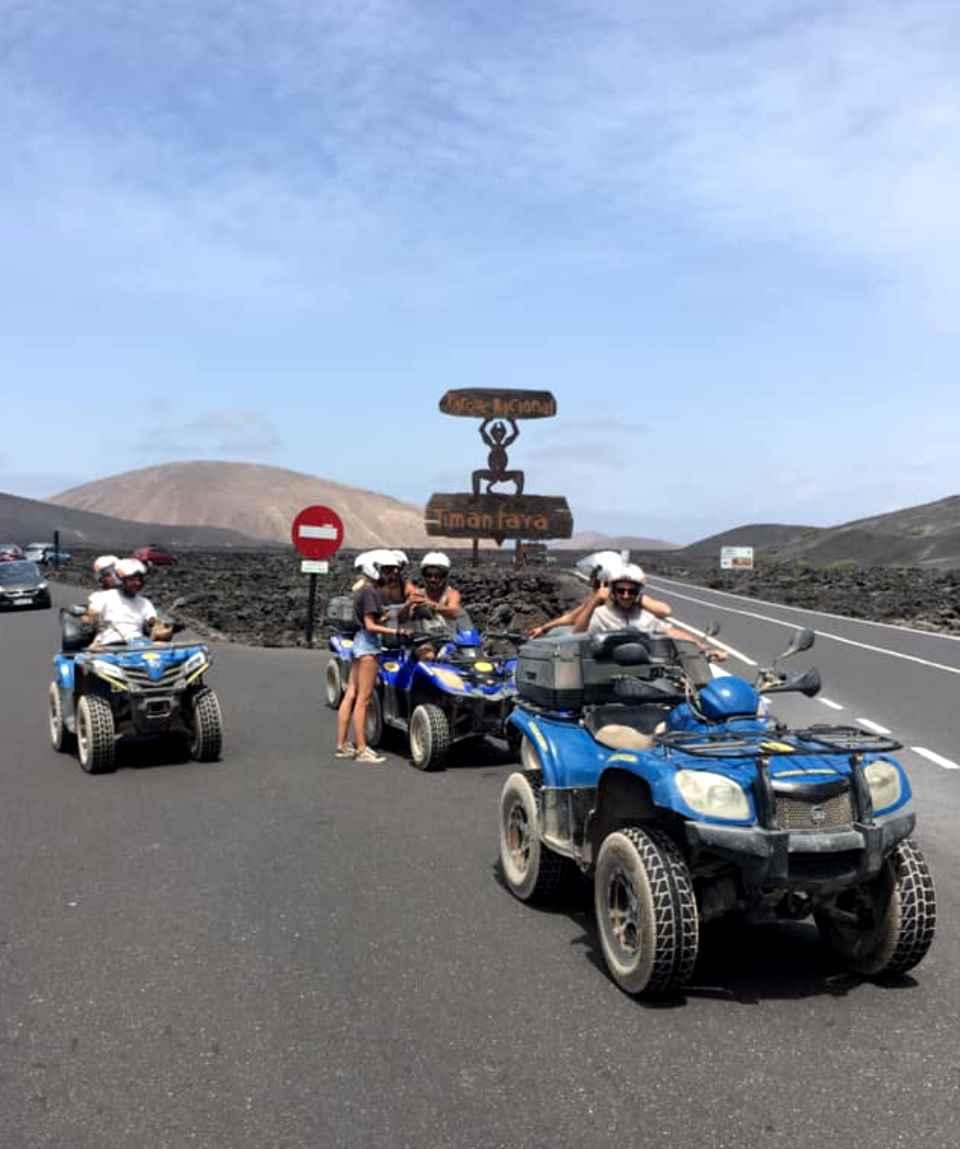 3 Hours Quad Tour La Geria & Timanfaya
