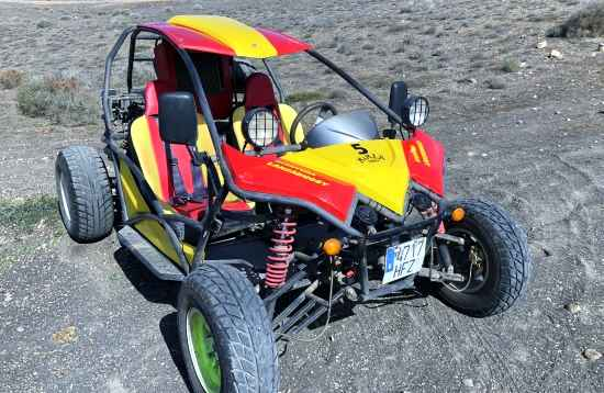 Xtreme BUGGY Tour on Lanzarote