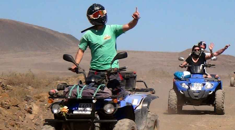 Quad biking in Lanzarote