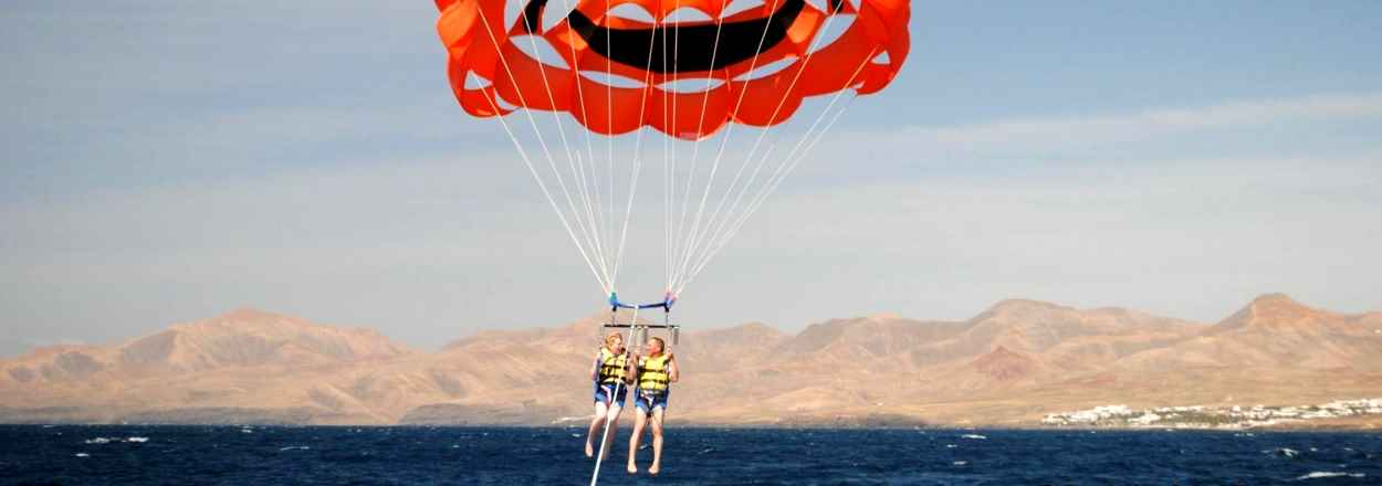 Water sports in Lanzarote